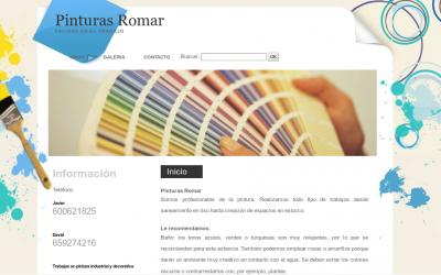 Pinturas Romar, trabajos de pintura en Coslada y Corredor del Henares