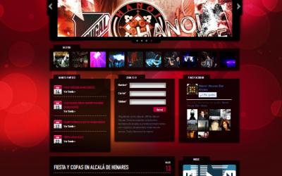 Nuevo diseño web para Hanoi House Bar de Copas Alcalá