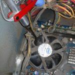 Limpieza del disipador del procesador