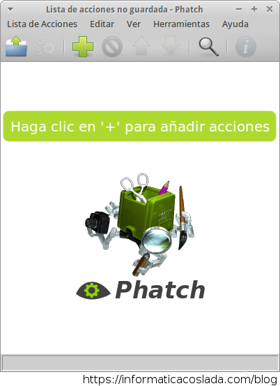 Phatch con Ubuntu 13.04 BUG solucionado