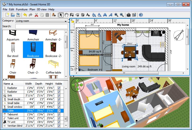 Sweet Home 3D Informática Coslada