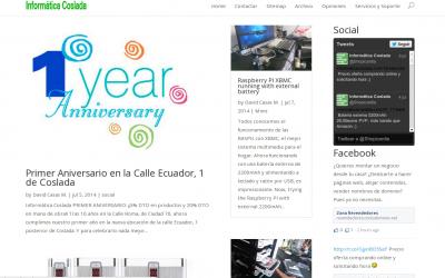 Nuevo diseño del blog Informática Coslada