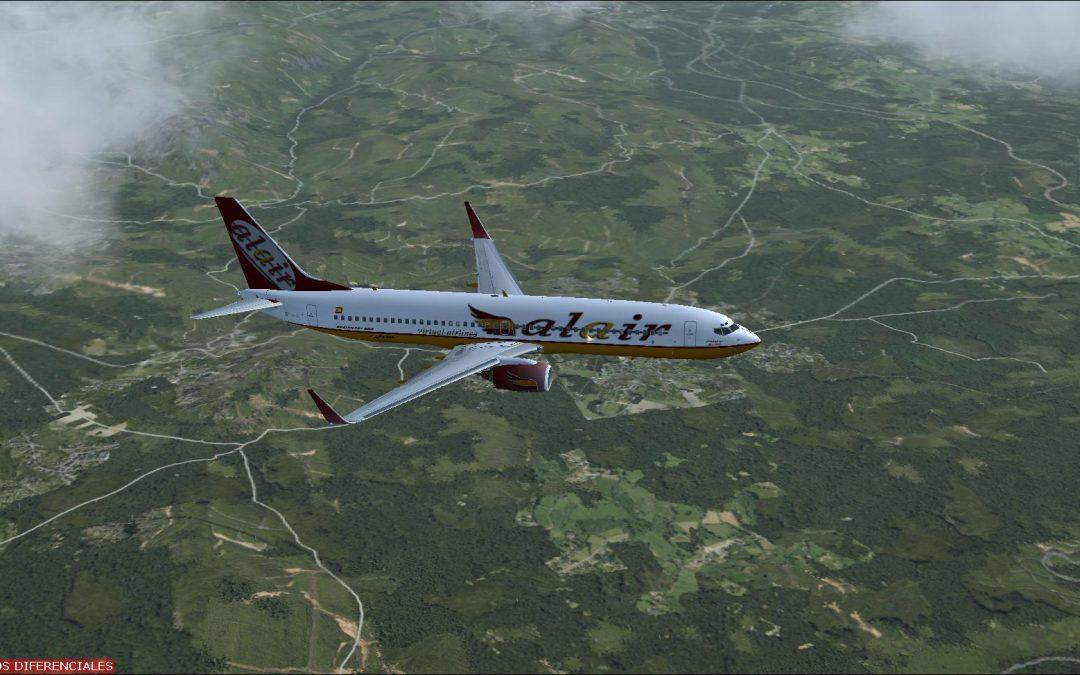 Ampliación equipo para simulación de vuelo