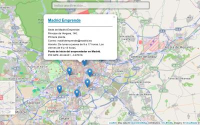 Leafletjs Librería Javascript para la creación de mapas online