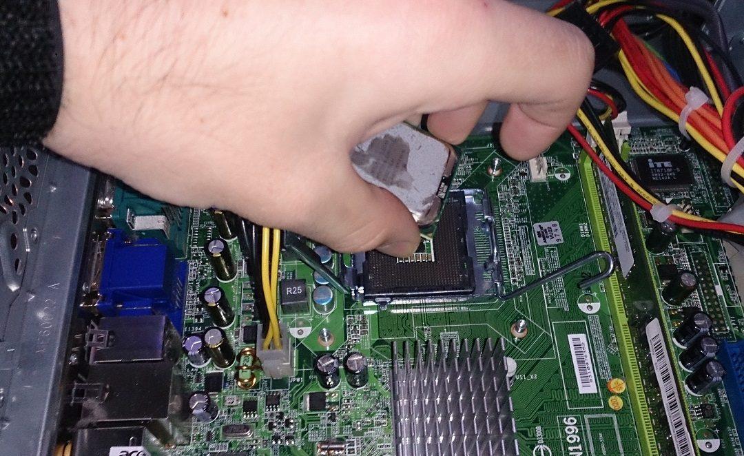 Cambio de placa, micro, RAM (PackFury)