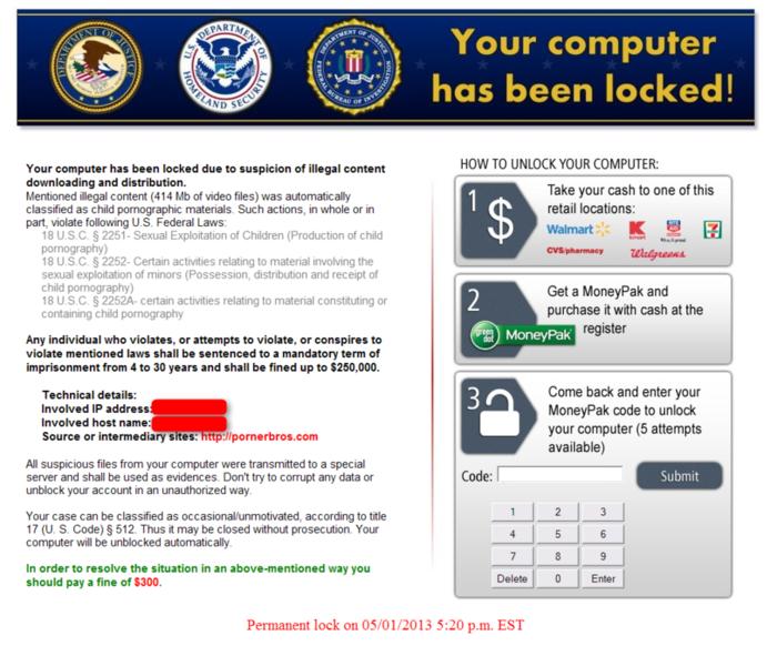 Ransomware y el secuestro de datos con cifrado