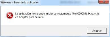 """Solución para el error """"La aplicación no se pudo iniciar correctamente (0xc0000005)"""""""