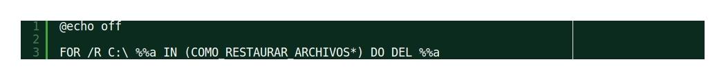 ¿Cómo borrar de modo automático todos los archivos de aviso de RANSOM?