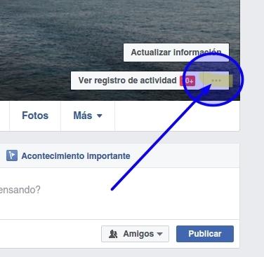 Actualizar la privacidad en tu perfil de Facebook